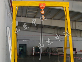 Small Mobile Hoist Mini Gantry Crane