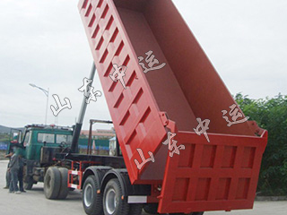 Heavy Duty Transport 3 Axles tipping dumping semi trailer tipper trailer