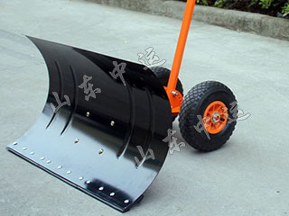 Pulley Push-Rod Type Metal Shovel Snow Tools