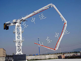 Mobile Hydraulic Placing Boom