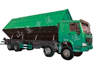 Side Tipping Dump Truck