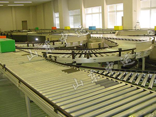 Turning Tapered Roller Conveyor