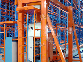 Automated Warehouse System With Double Station Stacker