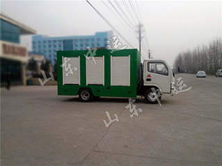 Wet And Dry Sewage Separation Truck