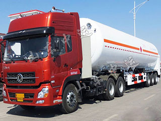 LNG Fuel Transportation Tank Truck