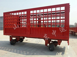 3 Axles Full Trailer with High Fence