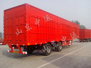 Factory produce fence semi transport truck trailer