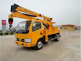 Hydraulic Truck Crane For Logistics