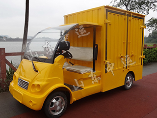 2 Seats Small Goods Delivery Electric Truck