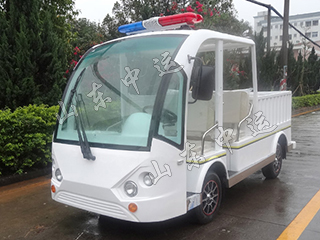 Electric fence laden patrol car 4 seats