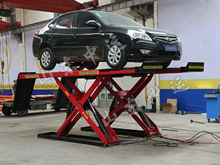 Hydraulic Scissor Welding Manual Car Lifter