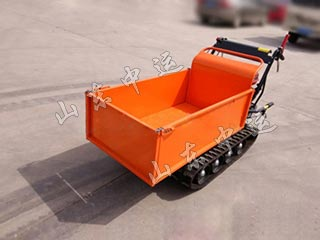 Construction Mini Track Dumper