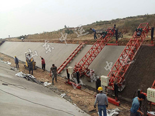 Channel Concrete Lining Machine