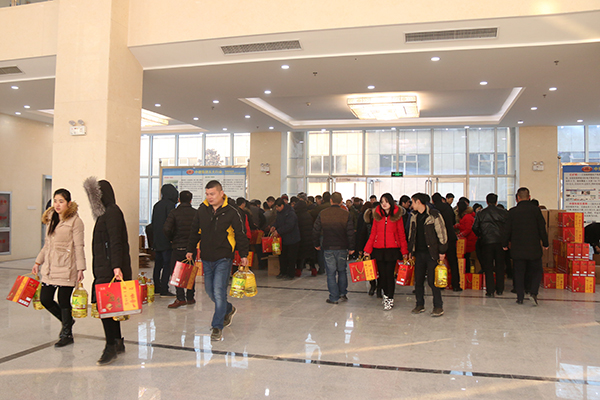 China Transport Group Issued Spring Festival Benefits for All the Staff