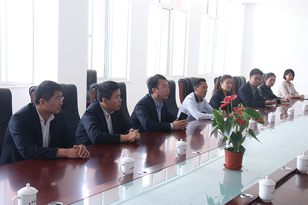 Welcome Leaders of Shandong Lingdong Information Technology Co., Ltd To Visit China Transport Group