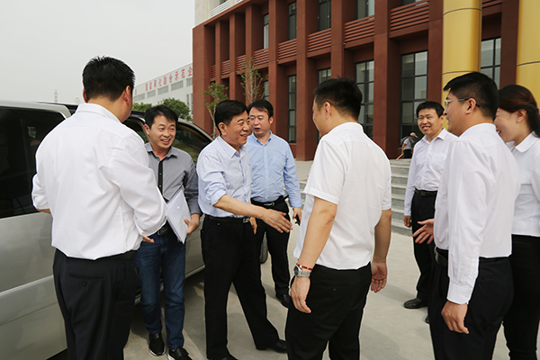 Warmly Welcome Leaders of Yantai Nanshan Education Group to Visit China Transport Group