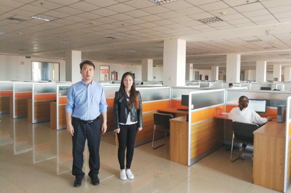 China Transport Group Send Some E-commerce Elites To Shandong Nanshan Zhongmei E-Commerce Co. For Team Training