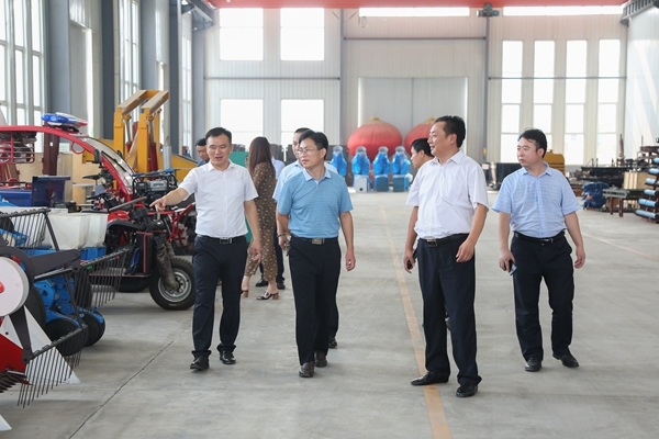 Warmly Welcome Leaders of Dadian Town of Linyi City To Visit China Coal Group For Cooperation