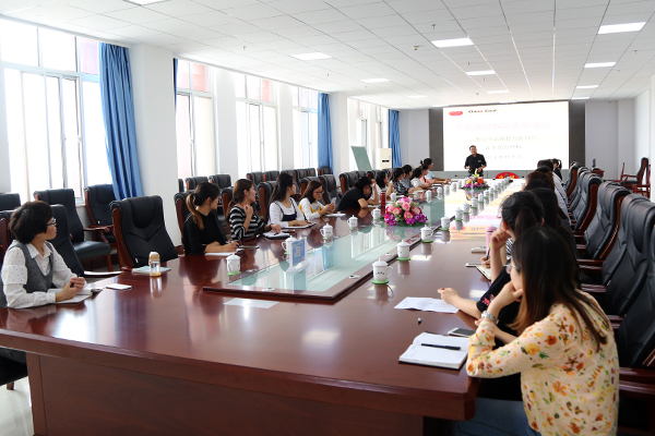 Jining City Industrial And Commercial Vocational Training School Held International Trade Business Communication Skills Training