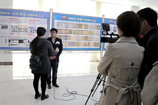Warmly Welcome Jining Hi-Tech Zone TV Station Reporters To Visit China Transport For An Interview