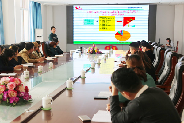 Warmly Welcome Yuangen Petrochemical Expert To Visit China Transport For Product Training