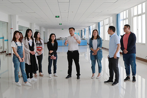 Warmly Welcome New Colleagues From Zhong Yun Intelligent Machinery (Yantai) Co., Ltd. To Visit China Transport