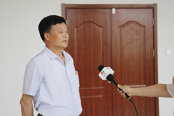 Warmly Welcome The Reporters Of Jining High-Tech Zone TV Station To Report On The China Transport Party Committee