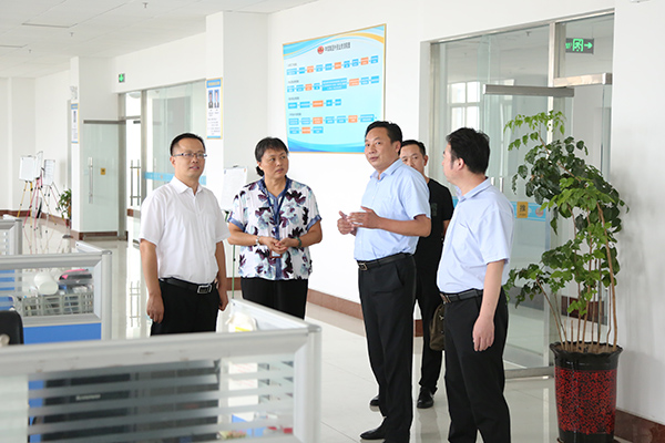 Warmly Welcome Jining City Planning Bureau Leaders To Visit The China Transpor