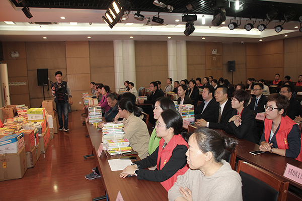 "China Transport Is Invited To Participate In The Donation Ceremony Of Jining City Women'S Federation'S ""Emotional Yingjisha Book For Growth"""