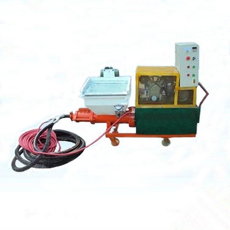 How To Operate Mortar Spraying Machine