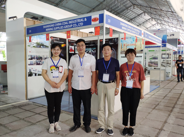 2019 Vietnam VIIF Exhibition A3 Hall 33 - China Transport Group Welcomes Customers From All Over The World To Negotiate