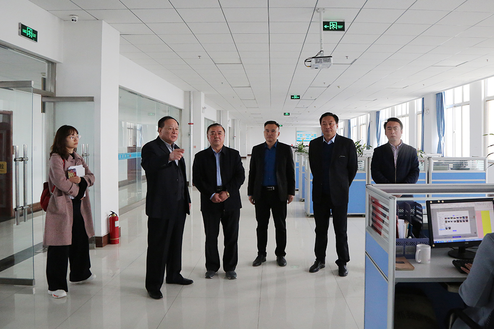 Warmly Welcome The Leaders Of Jining City Judicial Bureau To Visit China Transport Group