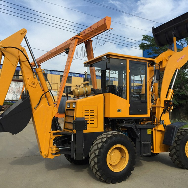 Use And Maintenance Of Backhoe Loader