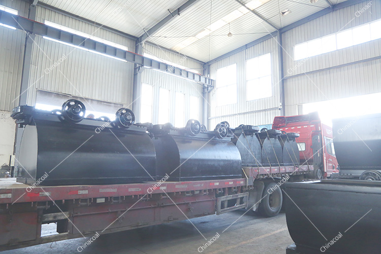 Our Group'S Second Batch Of Fixed Mine Cart Sent To Shanghai Port