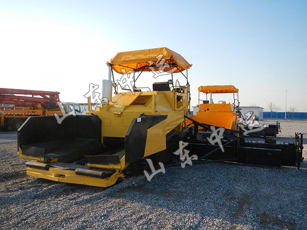 Road Machinery Mini Asphalt Paver